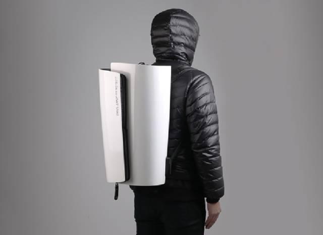 史上最坚硬的背包 小偷拿它也没辙